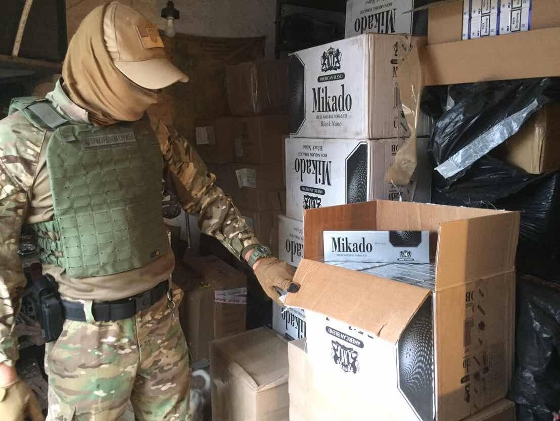 У Миколаєві виявлено контрабандних сигарет на 12 мільйонів гривень