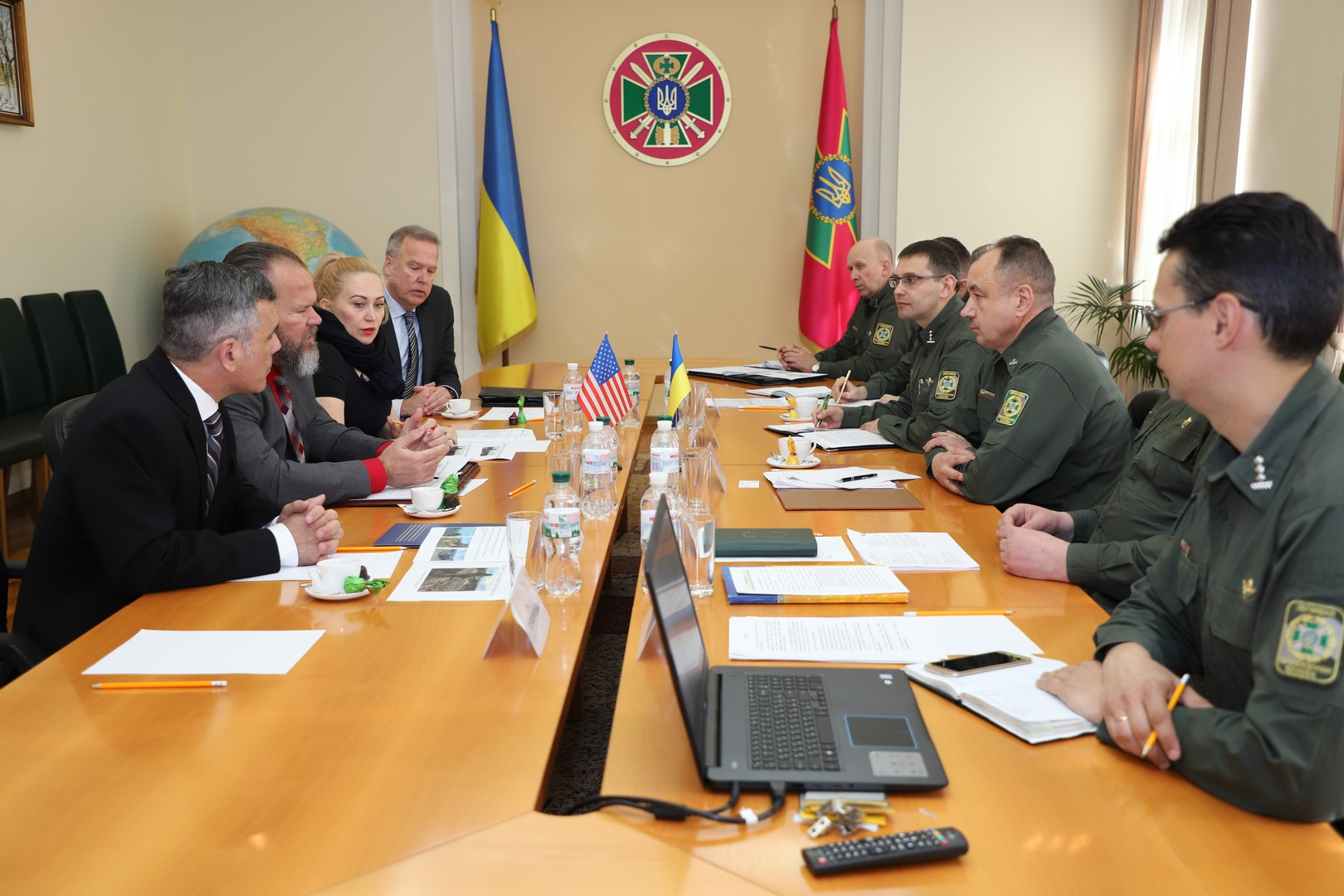 At the Administration of the State Border Guard Service took