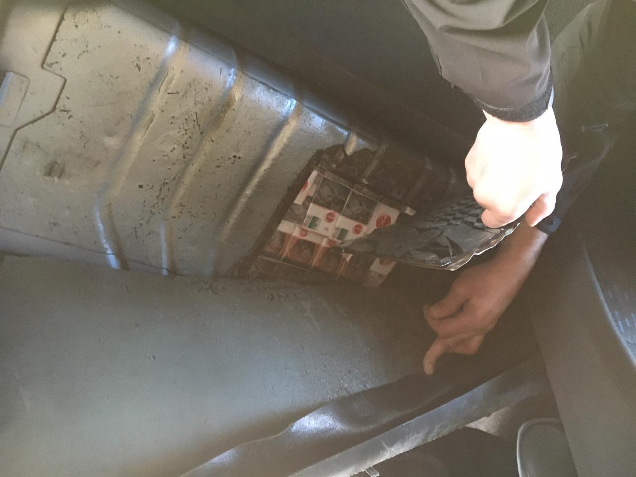 Белорус лишился автомобиля за контрабанду сигарет в Украину