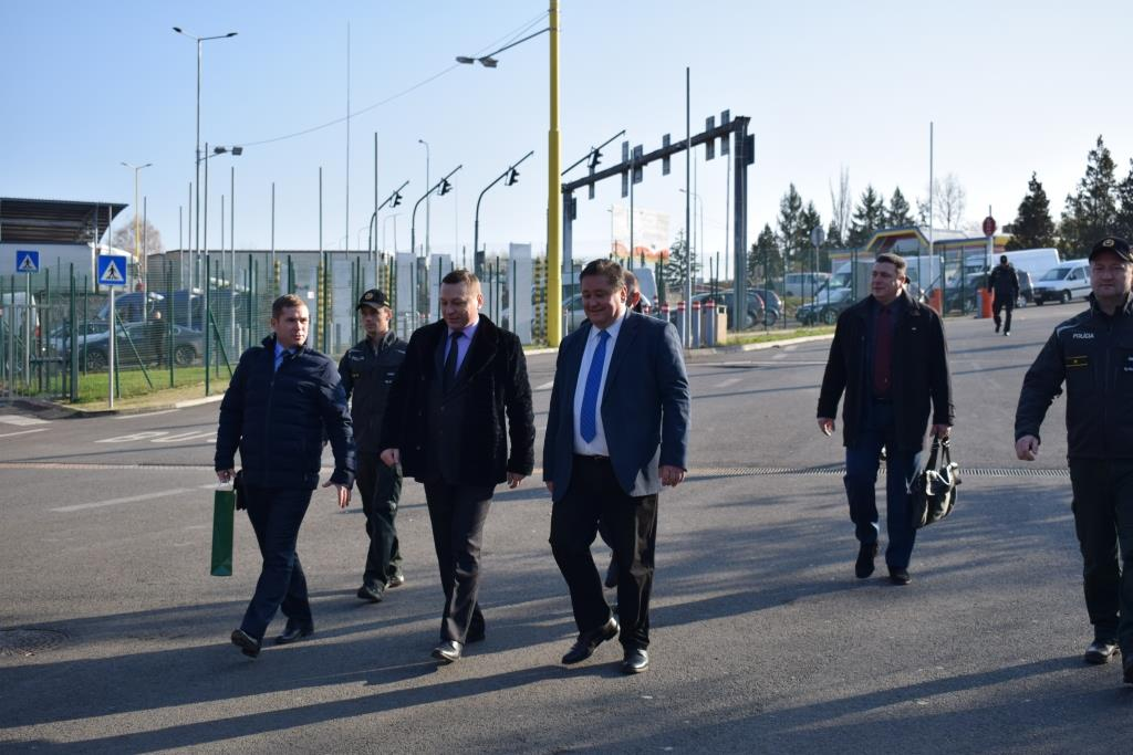 ukrainian and slovak border guards discussed the ways to