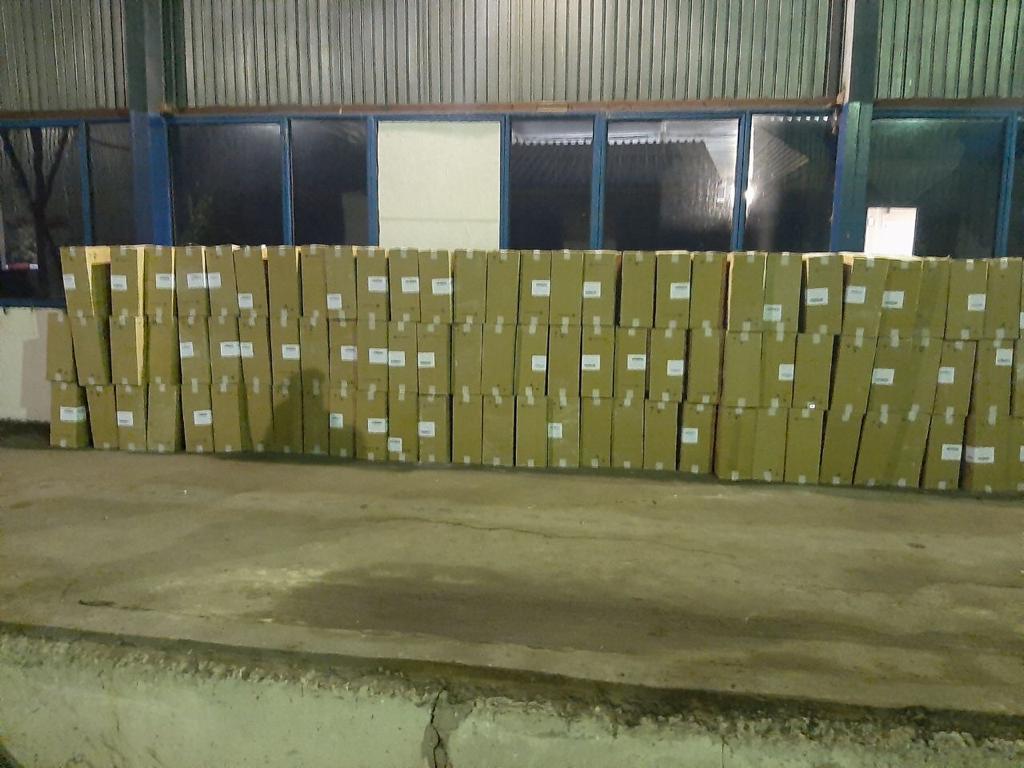 Среди пеноблоков: контрабандные сигареты нашли на границе с Украиной
