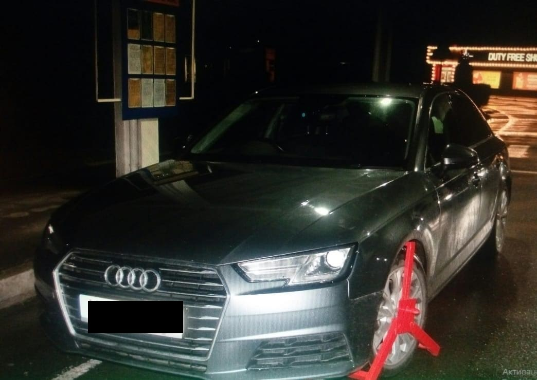 stolen in january in the uk audi was detained on the