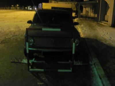 Житель Сумщини намагався на «копійці» прорватися через українсько-російський кордон