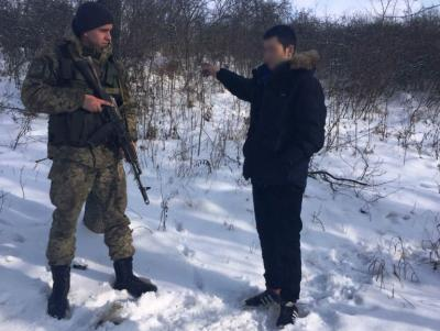 Россиянин незаконно пересек украинскую границу и