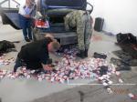 Громадянин  Німеччини намагався потайки перевезти понад 2 тисячі пачок сигарет через кордон
