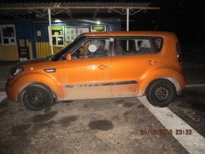 Через адмінмежу Херсонщини намагалися проїхати два автомобіля з підробленими документами